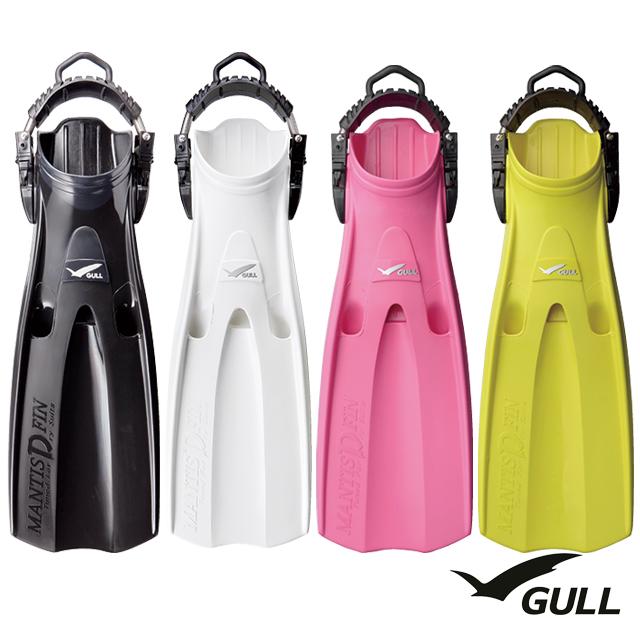 GULL ガル GF-2283P【M】2285P【S】 マンティス ドライ フィン スプリング付きMANTIS DRY FIN