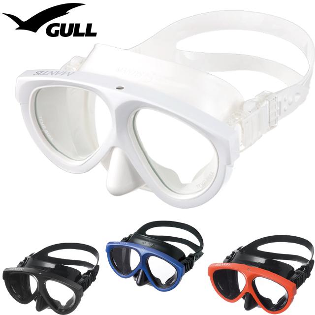 GULL ガル GM-1036 マンティス 5 ブラックシリコン マスク ダイビング