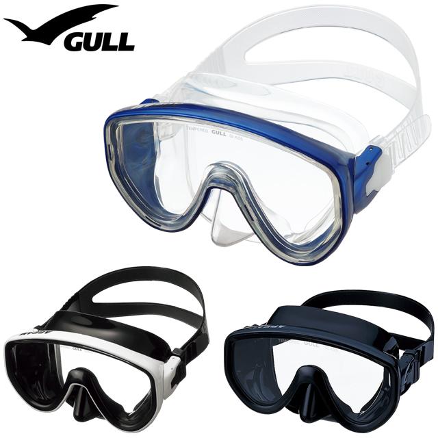 GULL ガル GM-1431 GM-1432 クリアシリコン ブラックシリコン マスク ダイビングABEAM アビーム