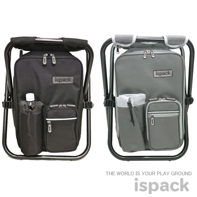 ISPACK イスパック バックパックHIGH QUALITY ハイクオリティー IS-HQ001 IS-HQ002イスパックHQ ブラック グレー