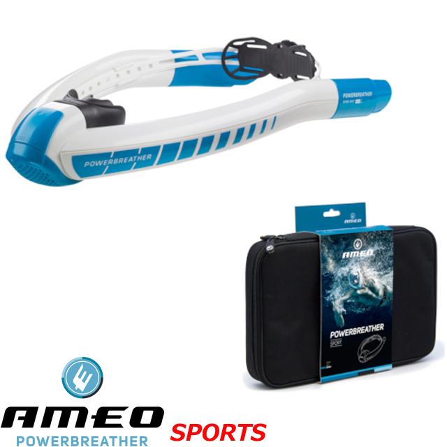 パワーブリーザー SPORTS AMEO SPORTSスノーケル シュノーケル アメオスイミング スキンダイビング スノーケリング