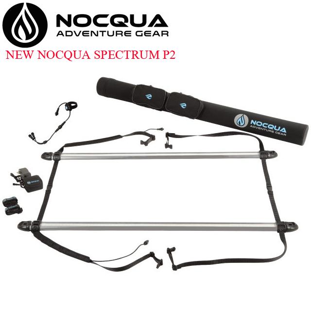 NOCQUA SPECTRUM LED ライト SAWARNA サワルナ サップ SUP スタンドアップ パドルボート カヤック アクセサリー