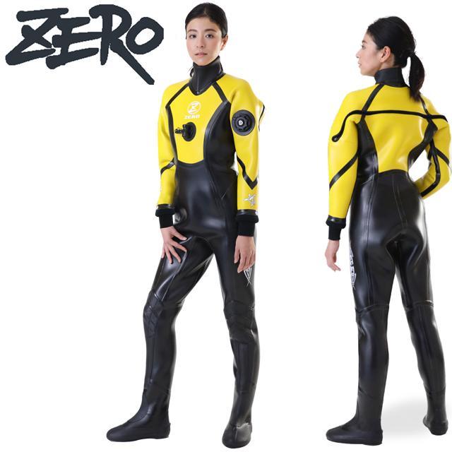 ZERO ゼロ EXPLORER 3 技 waza DRY SUITSドライスーツ レディース LADIES3.5mm 5.0mm ラジアルドライスーツ スポーツ SPORTS 3-34 ダイビング 大きいサイズ レディース 女性 DRY 防寒 保温 あったか マリンスポーツ