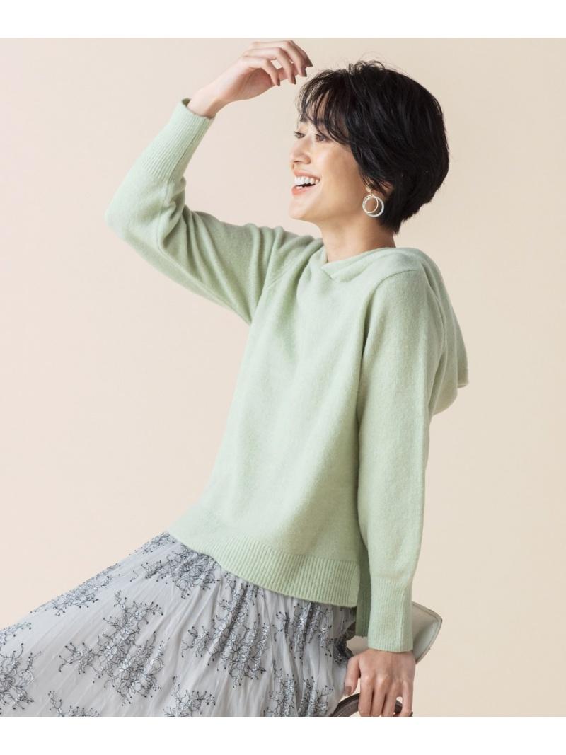 any SiS レディース カットソー エニィスィス S Rakuten Fashion ブルー SALE 50%OFF 国内即発送 ニット RBA_E 倉庫 フラッフィ パーカー