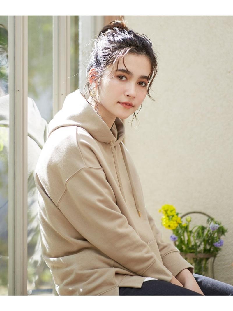 any SiS 数量限定 レディース カットソー エニィスィス L SALE 50%OFF Fashion ブラウン L'aube Rakuten RBA_E パーカー 全品送料無料 ホワイト スウェットプル