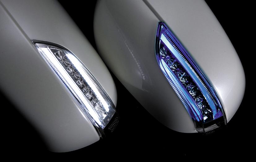 ! Valenti used jewel LED door-mirror winker type-1 TOYOTA vellfire ANH2 #/GGH2#