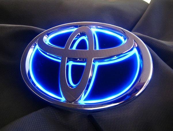 JUNACK/쥬낙크 LED 트랜스 엠블럼 크라운 GRS20# /GWS204 리어 엠블럼 LED 점등 칼라 블루
