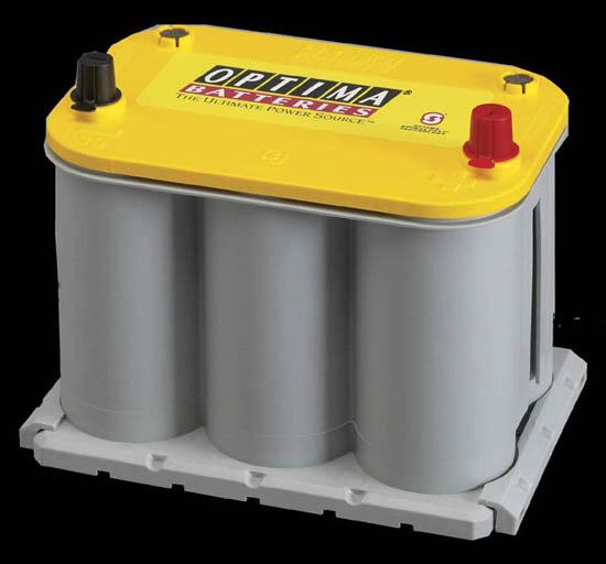安心の正規品 送料無料! OPTIMA/オプティマイエロートップシリーズ バッテリー YT R3.7L 【smtb-ms】