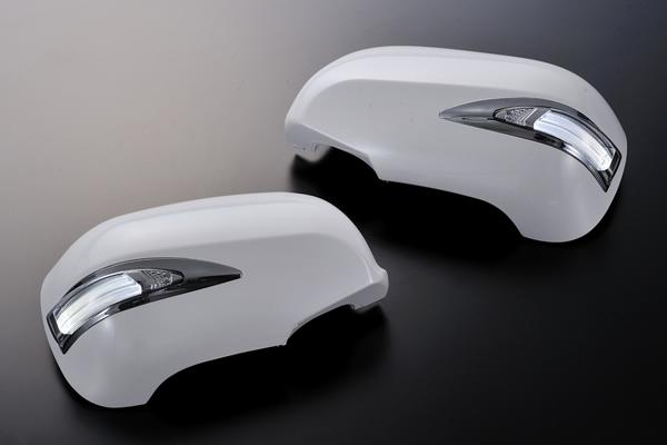 Revier/レヴィーア LEDウインカーミラータイプLS30系セルシオ (前期・後期対応)カバー交換タイプ 塗装済み 202/062/1C0/1F2/1F7