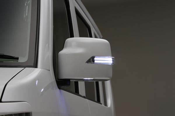 ポジション機能を搭載したライトバーシリーズ REIZ ライツ LEDウインカーミラー ライトバーシリーズ ポジション機能搭載 DA64W.V エブリィワゴン おすすめ Z7T 塗装済みZJ3 メッキ Z2S エブリィバンフットランプ付き カバー交換タイプ 正規品 26U