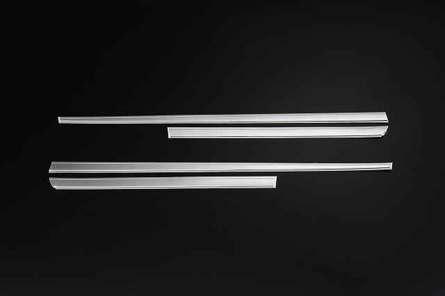Revier/レヴィーア クロームメッキ サイドドアガーニッシュZVW30プリウス H21.5~(前期・後期共通)