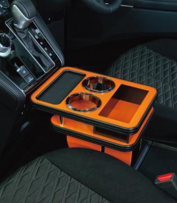 MADLYS(マドリス)ビッグマイナーチェンジ後(H31/2~)新型デリカD:5 CV#W センターテーブル フロント用 アクティブギア専用オレンジHikari Auto(輝オート)
