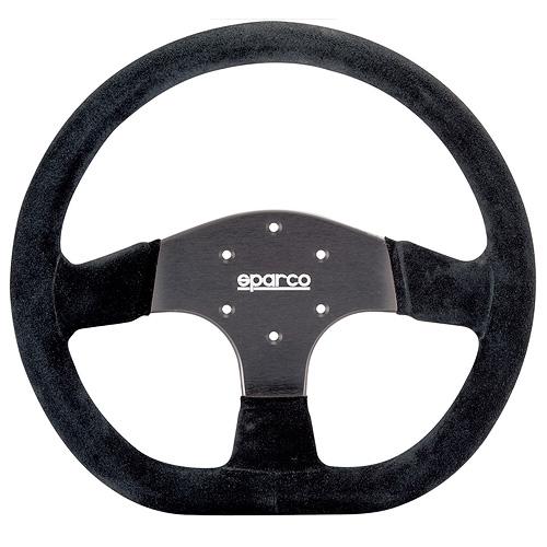 SPARCO/スパルコ 正規品ステアリング R353 ブラックスエード・ブラックスポーク