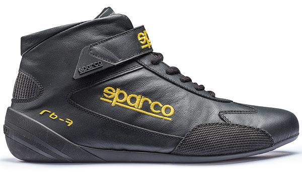 SPARCO/スパルコ レーシングシューズ4輪車用 CROSS RB-7(FIA 8856-2000公認モデル) ブラック ※サイズ選択 41~47