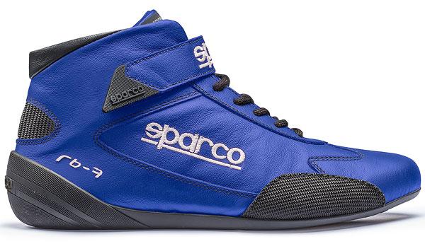 SPARCO/スパルコ レーシングシューズ4輪車用 CROSS RB-7(FIA 8856-2000公認モデル) ブルー ※サイズ選択 41~47