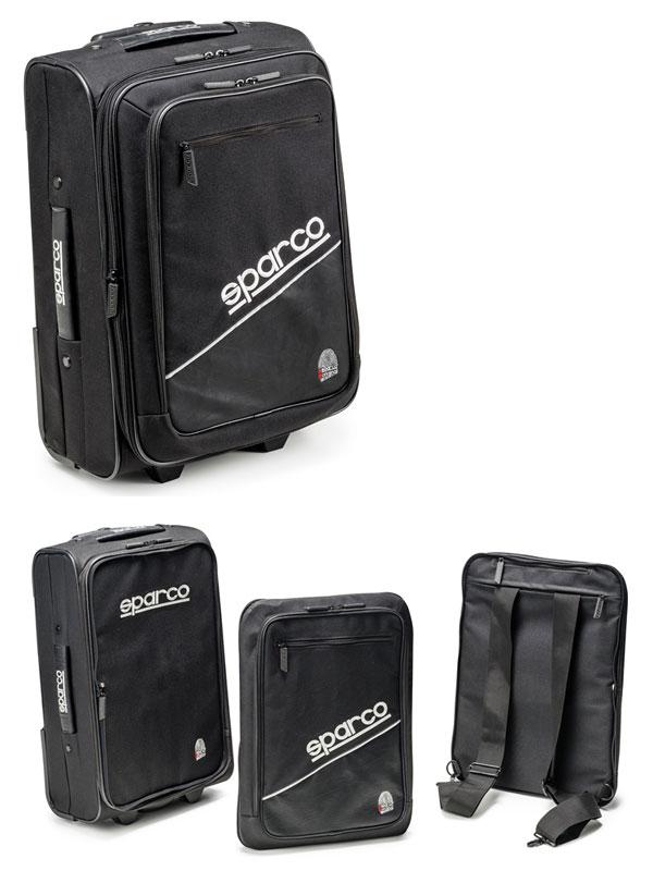 SPARCO BAG/スパルコ バッグ SATELLITE サテライト ブラック 016431NR
