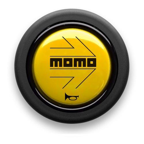 正規品 MOMO 新品 送料無料 モモ ホーンボタン 定番スタイル HB-03センターリングなしステアリング専用 YELLOW イエロー
