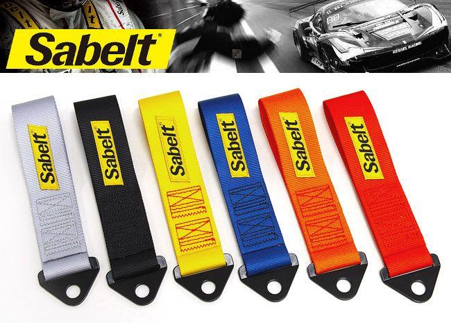 正規輸入品 Sabelt 人気海外一番 サベルト 人気上昇中 TOW STRAP 布製ストラップ ブラック ブルー レッド ※要選択 グレー オレンジ イエロー