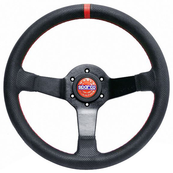 SPARCO/スパルコ 正規品ステアリング CHAMPION 330mm レザー/Leather
