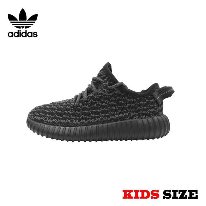 海外買い付け正規品 adidas YEZZY BOOST 350 INFANT【アディダス イージー ブースト 350 インファント】【BB5355】【Pirate Black】KANYE WEST アディダス ブースト キッズサイズ 子供用 靴 スニーカー 新品 あす楽対応