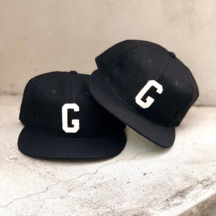 海外限定モデル EBBETS FIELD FLANNELS(エベッツフィールドフランネルズ)Homestead Grays 1945 Vintage Ballcap(BLACK)CAP キャップ ベースボールキャップ 帽子 メンズ レディース ユニセックス 男女兼用 ブラック 黒 FEAR OF GOD Jerry Lorenzo あす楽対応