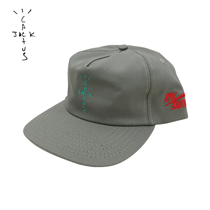 数量限定販売 NIKE×TRAVIS SCOTT(ナイキ×トラビス・スコット)スナップバックキャップ(CACTUS JACK JORDAN HIGHEST SNAPBACK CAP)(SAGE GREEN)新品 メンズ レディース ユニセックス 男女兼用 帽子 オリーブ あす楽対応
