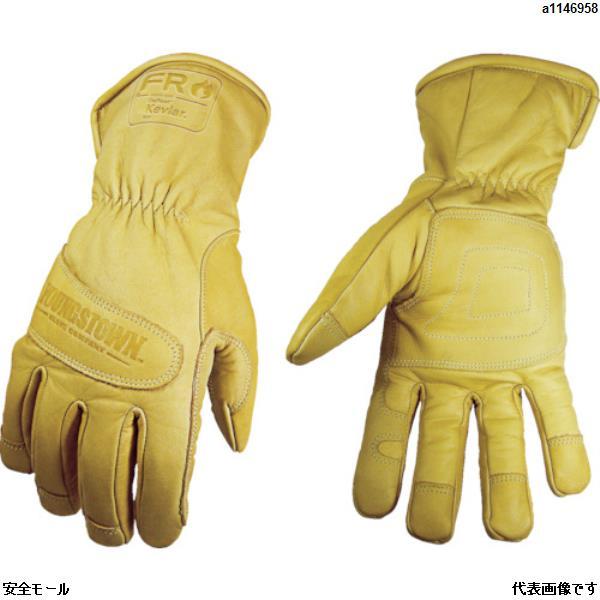 YOUNGSTの革手袋は、「安全モール」で!! YOUNGST 革手袋 FRウォータープルーフ アルティメット ケブラー(R) M 12329060M 1双