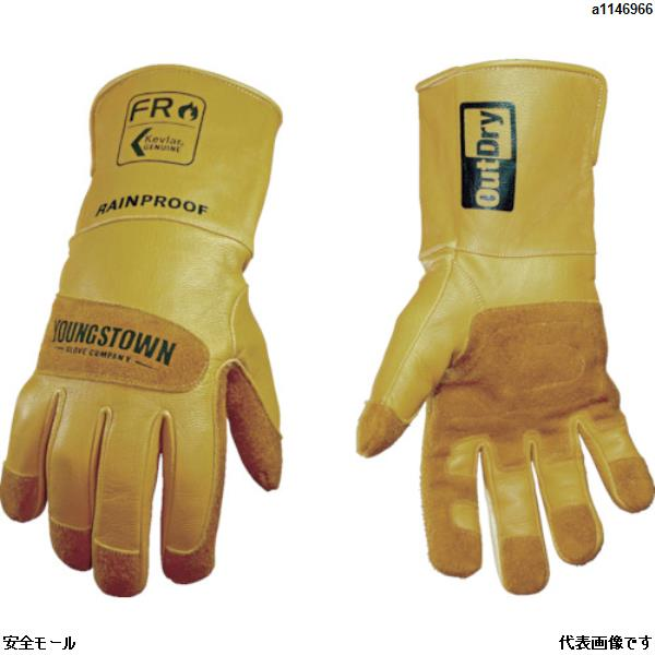 YOUNGSTの革手袋は、「安全モール」で!! YOUNGST 革手袋 FRレイングローブ アウトドライ L 12349560L 1双