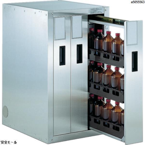 爆買い送料無料 TRUSCOの保管庫は 安全モール で 代引き不可 TRUSCO 458X600XH800 TK3 売却 3列引出型 1台 耐震薬品庫