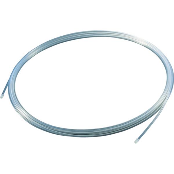 TRUSCO フッ素樹脂チューブ 内径10mmX外径12mm 長さ20m TPFA1220 1巻