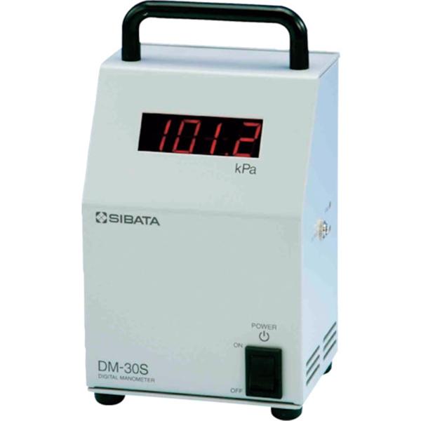 SIBATA デジタルマノメーター DM-30S型 07106030 1台