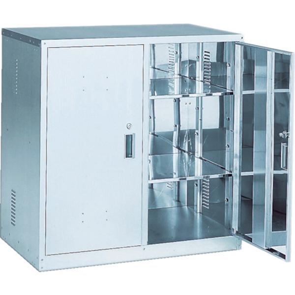 (代引き不可) TRUSCO 耐震薬品庫 両開型 900X500XH900 TK1HN 1台