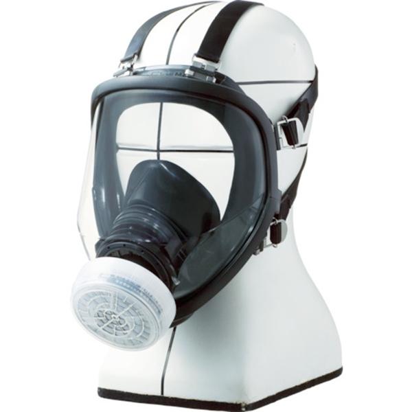 シゲマツ/重松 直結式小型全面形防毒マスク GM166 GM166 1個 ガスマスク