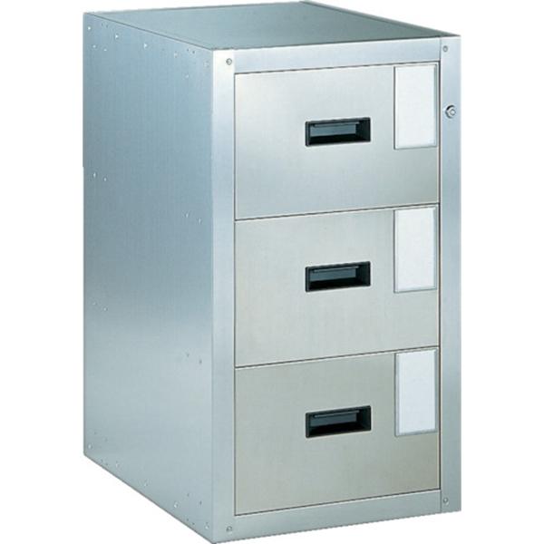 (代引き不可) TRUSCO 耐震薬品庫 455X600XH800 3段引出型 SY3 1台