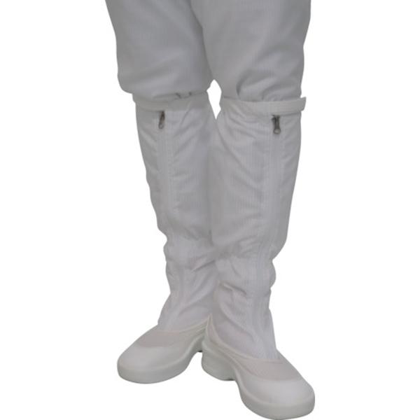 ゴールドウイン ファスナー付ロングブーツ ホワイト 23.0cm PA9350W23.0 1足