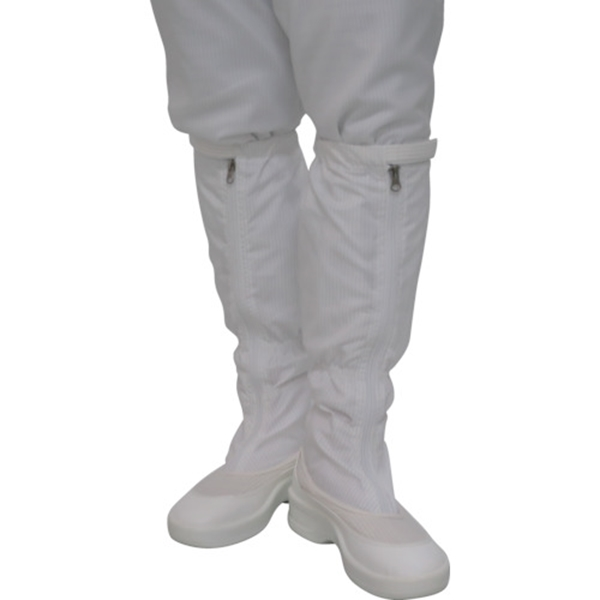ゴールドウイン ファスナー付ロングブーツ ホワイト 24.0cm PA9350W24.5 1足