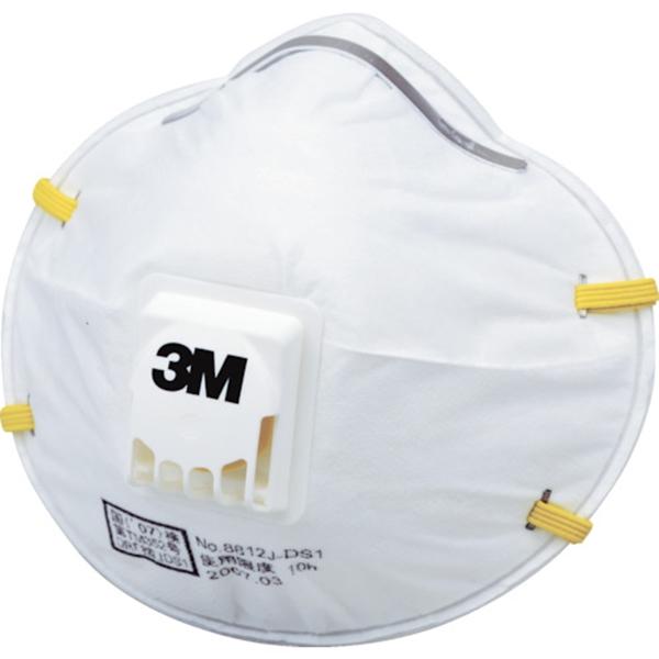 3M 使い捨て式防じんマスク 8812J DS1 10枚入り 徳用タイプ 8812JDS1T 24袋