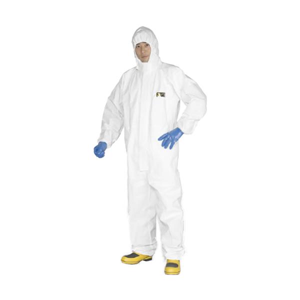 防護服/保護服 (送料無料) エイブル山内 MAXGARDマックスガード2500 (10着入)(放射能/作業服)