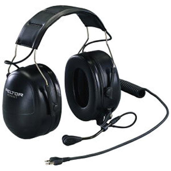 (送料無料)イヤーマフ PTT付遮音ヘッドセットイヤーマフ MT53H79A-31 (NRR25dB) PELTOR (防音/騒音対策/イヤマフ)