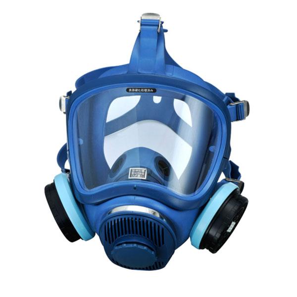 興研 直結式小型防毒マスク HV-7型 ガスマスク/作業用マスク/防毒マスク/防どくマスク/小型マスク/DIY/災害対策