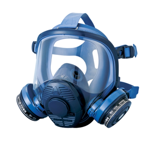 興研 直結式小型防毒マスク 1521HG型 防塵機能付き ガスマスク 防毒マスク 防塵マスク 防じんマスク 作業用 小型 解体 現場