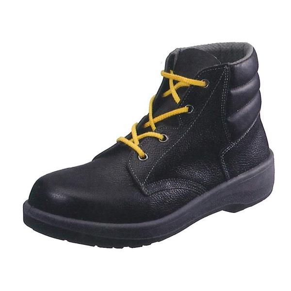 シモン 静電靴 7522黒 (普通作業用) (JIS T8103 ED-P SEF合格品)