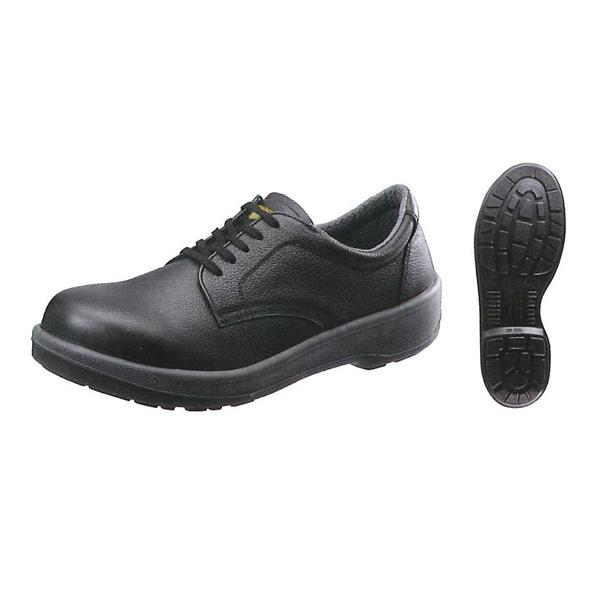 シモン 短靴 ECO11黒 (普通作業用) (JIS T8101革製S種 E合格品)