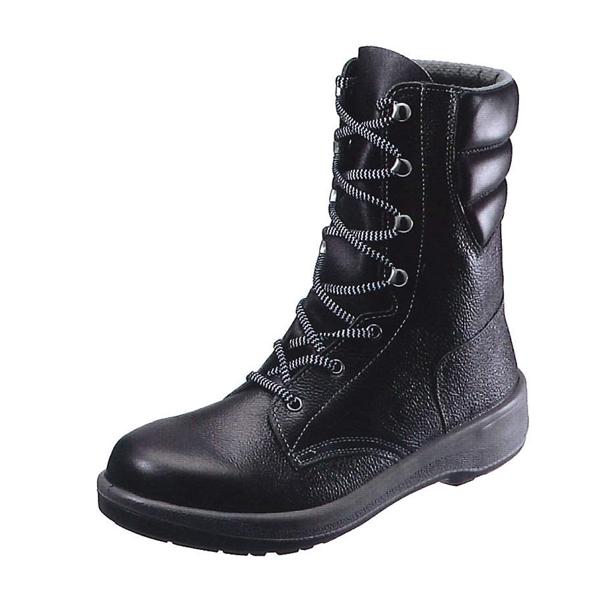 シモン 長編上靴 7533黒 (普通作業用) (JIS T8101革製S種(普通作業用) E合格品)