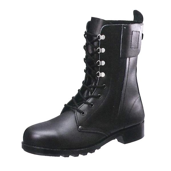 シモン 長編上靴 533C01 (普通作業用/チャック付) (JIS T8101革製S種(普通作業用))