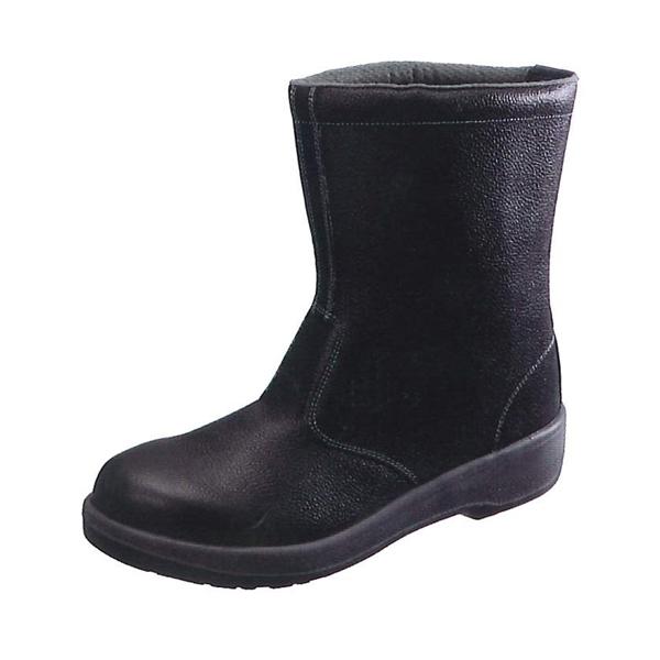 シモン 半長靴 7544黒 (普通作業用) (JIS T8101革製S種(普通作業用) E合格品)