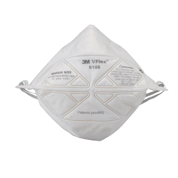 Dust Vflex Influenza Of Standard with 3m Throwaway-style 50 Regulars Pm2 Protective N95 3m Mask Measures Pieces 5-adaptive 9105