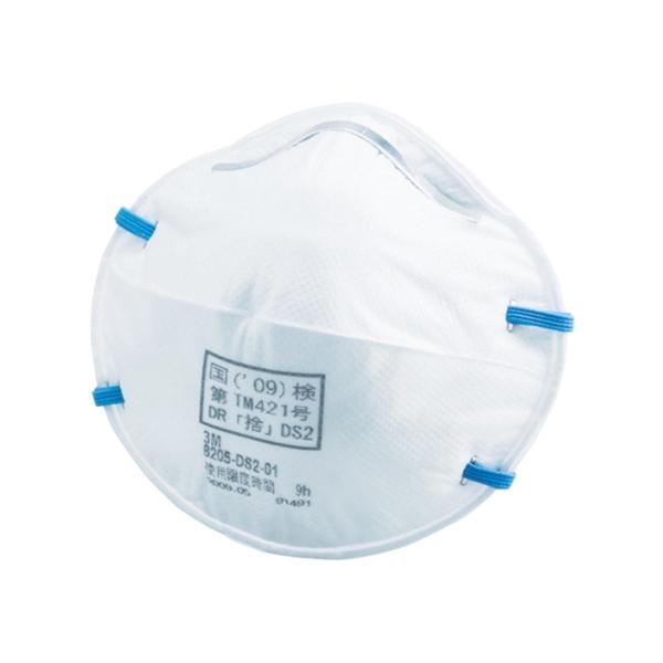 3M 使い捨て式防じんマスク 8205 DS2 (10枚パック/箱*10箱/1ケース(100枚)) 8205DS210