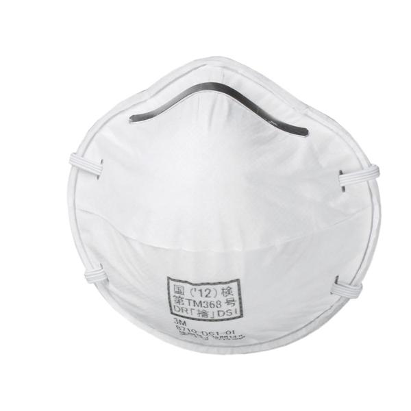 【3M/スリーエム】 使い捨て式 防塵マスク 8710-DS1 (10箱/1ケース)