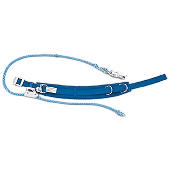 ベルトのカーブが腰にフィットする柱上用安全帯 (送料無料) サンコー/タイタン 柱上用 安全帯 U字吊り・1本吊り兼用 腰ピタ DライトCV16 (ベルトのカーブが腰にフィット)